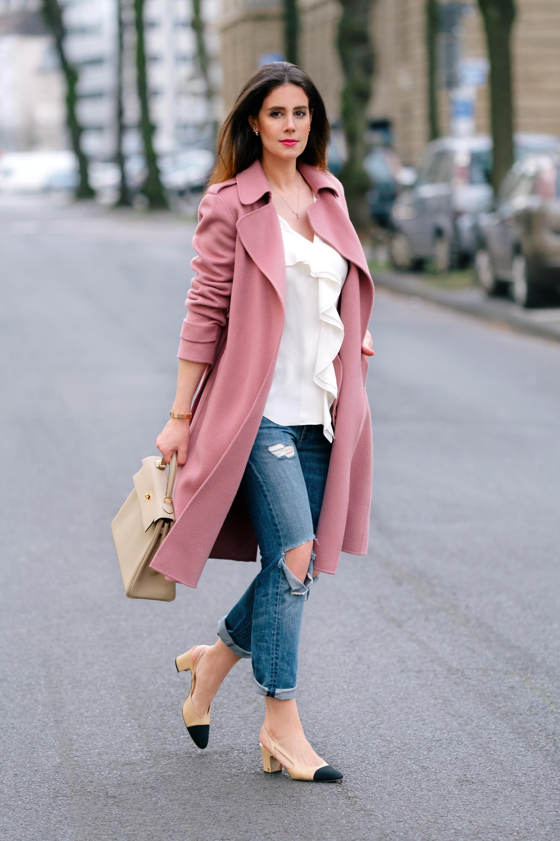 theory-pink-oaklane-coat